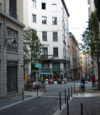 Photo de la boutique dans le quartier des Capucins à Lyon