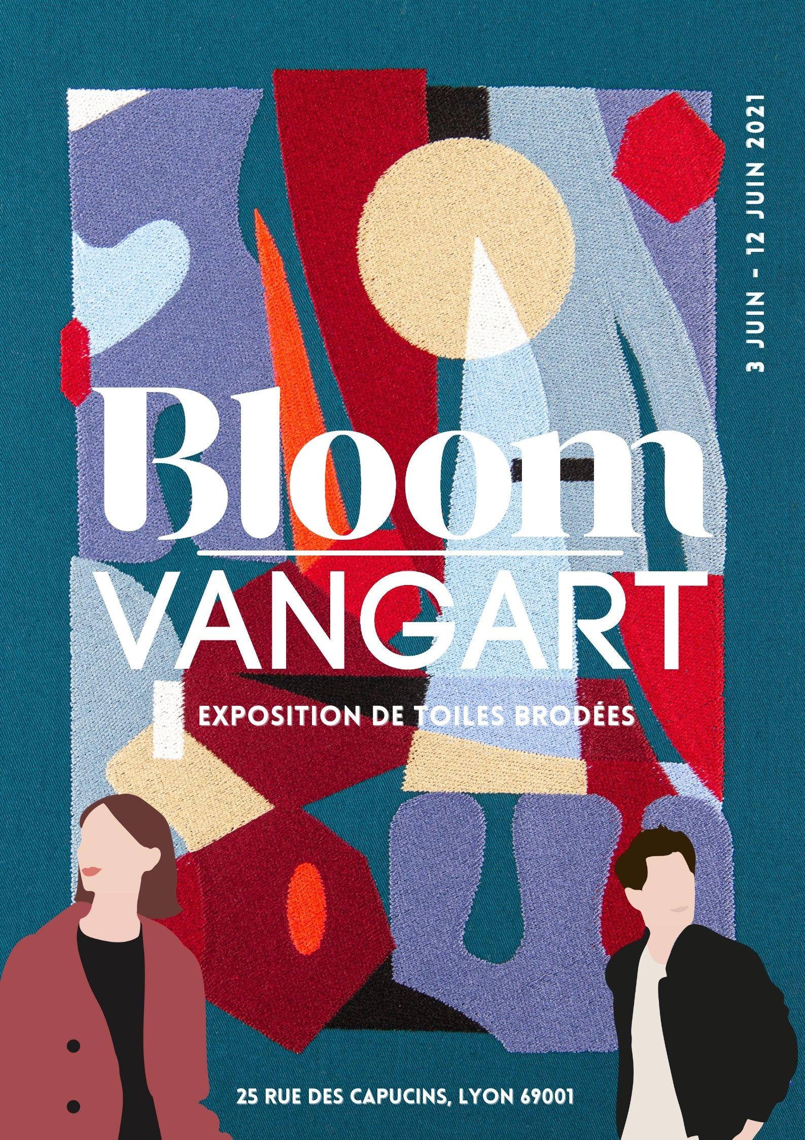 Affiche collaboration Bloom x Vangart